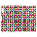 Modernist Floral Tiles Apple iPad 3/4 Hardshell Case View1