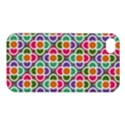 Modernist Floral Tiles Apple iPhone 4/4S Premium Hardshell Case View1