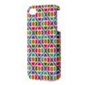 Modernist Floral Tiles Apple iPhone 4/4S Premium Hardshell Case View3