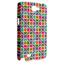 Modernist Floral Tiles Samsung Galaxy Note 2 Hardshell Case View2