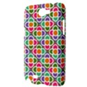 Modernist Floral Tiles Samsung Galaxy Note 2 Hardshell Case View3