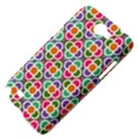 Modernist Floral Tiles Samsung Galaxy Note 2 Hardshell Case View4