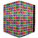 Modernist Floral Tiles Kindle Fire (1st Gen) Flip Case View4
