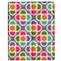 Modernist Floral Tiles Apple iPad 2 Flip Case View1