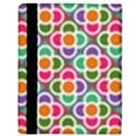 Modernist Floral Tiles Apple iPad 2 Flip Case View3