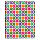 Modernist Floral Tiles Apple iPad Mini Flip Case View1