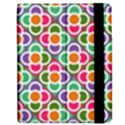Modernist Floral Tiles Apple iPad Mini Flip Case View2