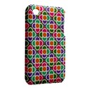 Modernist Floral Tiles Apple iPhone 3G/3GS Hardshell Case (PC+Silicone) View2