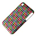 Modernist Floral Tiles Apple iPhone 3G/3GS Hardshell Case (PC+Silicone) View4