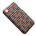 Modernist Floral Tiles Apple iPhone 3G/3GS Hardshell Case (PC+Silicone) View5