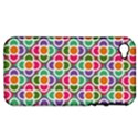 Modernist Floral Tiles Apple iPhone 4/4S Hardshell Case (PC+Silicone) View1