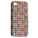 Modernist Floral Tiles Apple iPhone 4/4S Hardshell Case (PC+Silicone) View2