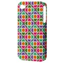 Modernist Floral Tiles Apple iPhone 4/4S Hardshell Case (PC+Silicone) View3