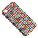 Modernist Floral Tiles Apple iPhone 4/4S Hardshell Case (PC+Silicone) View5