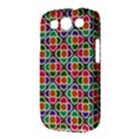 Modernist Floral Tiles Samsung Galaxy S III Classic Hardshell Case (PC+Silicone) View3