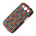 Modernist Floral Tiles Samsung Galaxy S III Classic Hardshell Case (PC+Silicone) View4