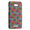 Modernist Floral Tiles HTC Butterfly X920E Hardshell Case View2
