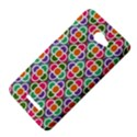 Modernist Floral Tiles HTC Butterfly X920E Hardshell Case View4