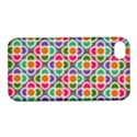 Modernist Floral Tiles Apple iPhone 4/4S Hardshell Case with Stand View1