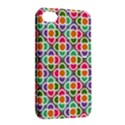 Modernist Floral Tiles Apple iPhone 4/4S Hardshell Case with Stand View2