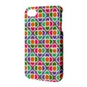 Modernist Floral Tiles Apple iPhone 4/4S Hardshell Case with Stand View3