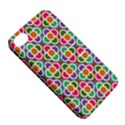 Modernist Floral Tiles Apple iPhone 4/4S Hardshell Case with Stand View5