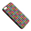 Modernist Floral Tiles Apple iPhone 5 Premium Hardshell Case View5