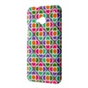 Modernist Floral Tiles HTC One M7 Hardshell Case View3