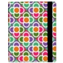 Modernist Floral Tiles Samsung Galaxy Tab 10.1  P7500 Flip Case View3