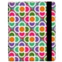 Modernist Floral Tiles Samsung Galaxy Tab 8.9  P7300 Flip Case View2
