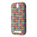 Modernist Floral Tiles HTC One SV Hardshell Case View3