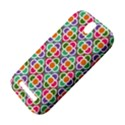 Modernist Floral Tiles HTC One SV Hardshell Case View4