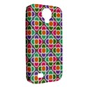 Modernist Floral Tiles Samsung Galaxy S4 Classic Hardshell Case (PC+Silicone) View2