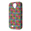 Modernist Floral Tiles Samsung Galaxy S4 Classic Hardshell Case (PC+Silicone) View3