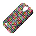 Modernist Floral Tiles Samsung Galaxy S4 Classic Hardshell Case (PC+Silicone) View4
