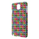 Modernist Floral Tiles Samsung Galaxy Note 3 N9005 Hardshell Case View3