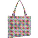 Modernist Floral Tiles Mini Tote Bag View2