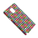 Modernist Floral Tiles Samsung Galaxy Note 4 Hardshell Case View5