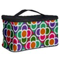 Modernist Floral Tiles Cosmetic Storage Case View2
