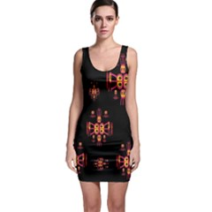 Alphabet Shirtjhjervbretili Sleeveless Bodycon Dress