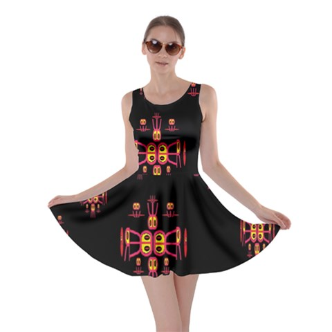 Alphabet Shirtjhjervbretili Skater Dress
