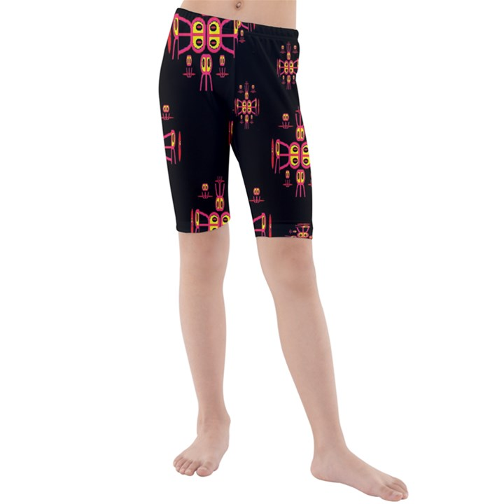 Alphabet Shirtjhjervbretili Kids  Mid Length Swim Shorts