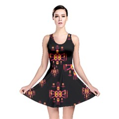 Alphabet Shirtjhjervbretili Reversible Skater Dress