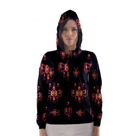 Alphabet Shirtjhjervbretili Hooded Wind Breaker (Women)