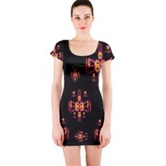 Alphabet Shirtjhjervbretili Short Sleeve Bodycon Dress