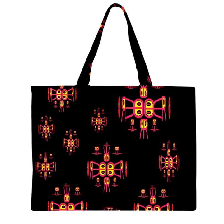 Alphabet Shirtjhjervbretili Large Tote Bag