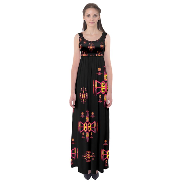 Alphabet Shirtjhjervbretili Empire Waist Maxi Dress