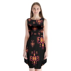 Alphabet Shirtjhjervbretili Sleeveless Chiffon Dress