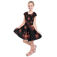 Alphabet Shirtjhjervbretili Kids  Short Sleeve Dress