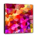 Geometric Fall Pattern Mini Canvas 8  x 8  View1